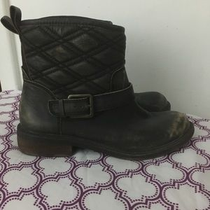 Lucky Brand Quilted Boots